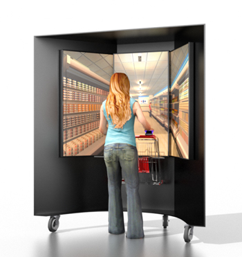 The virtual shop